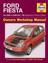 Haynes Workshop Manual Ford Fiesta Petrol & Diesel (Apr 02 - 08) 02 to 58
